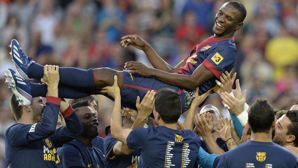 Barcelonas Abwehrspieler Abidal: Emotionaler Abschied