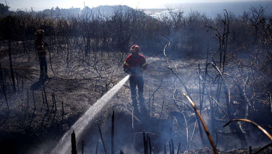 Feuerwehrmann in Cascais
