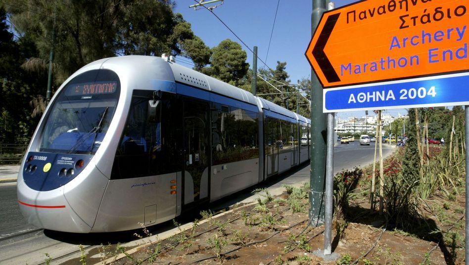 Tram in Athen: Bahn-Verkauf soll Griechenland Einnahmen bringen