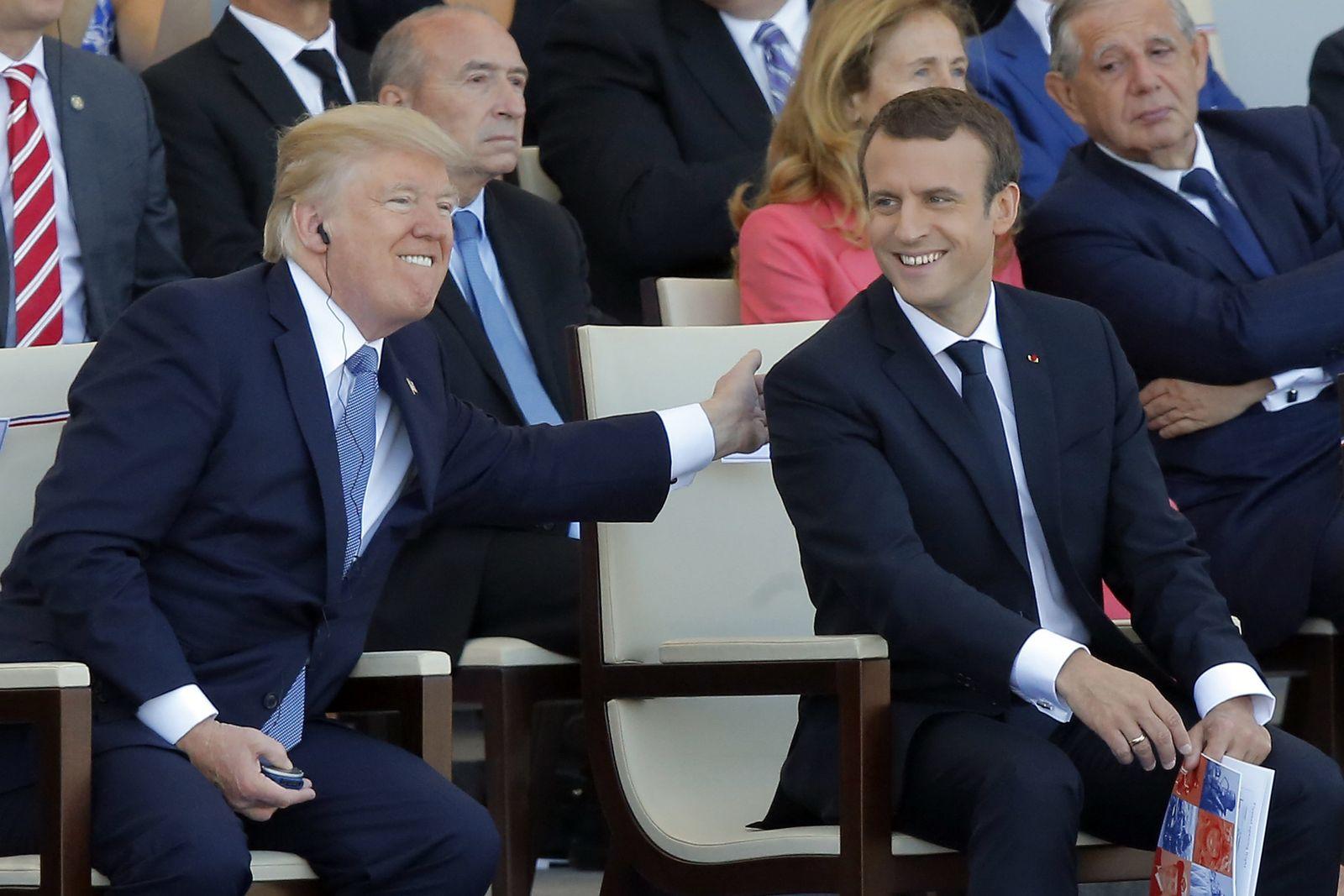 Donald Trump in Frankreich
