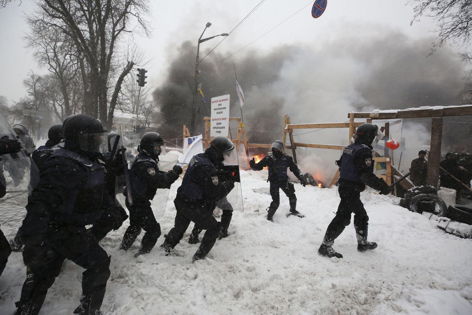 Proteste in Kiew