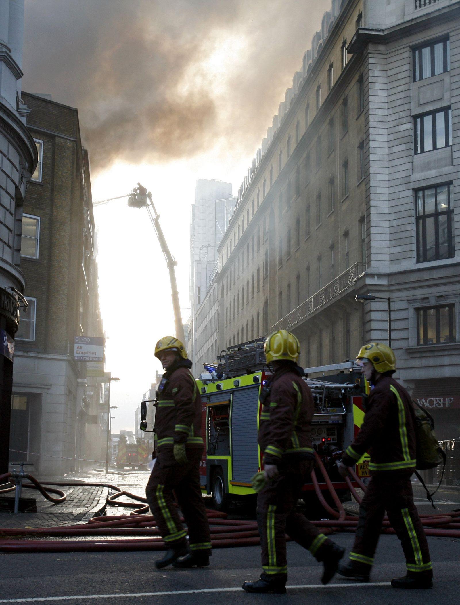 London / Feuer