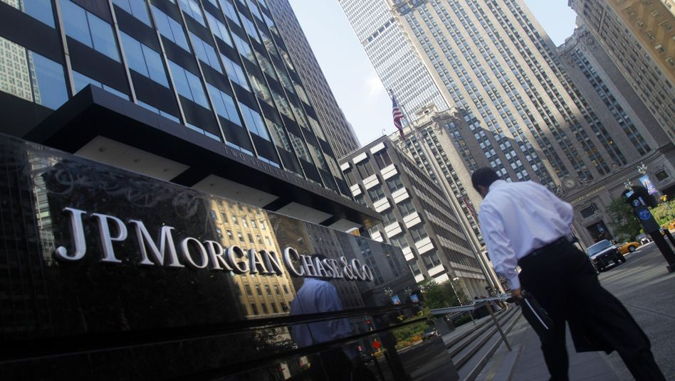 "JP-Morgan-Hauptsitz in Manhattan: ""JP Morgan verzockt seine Krone"""