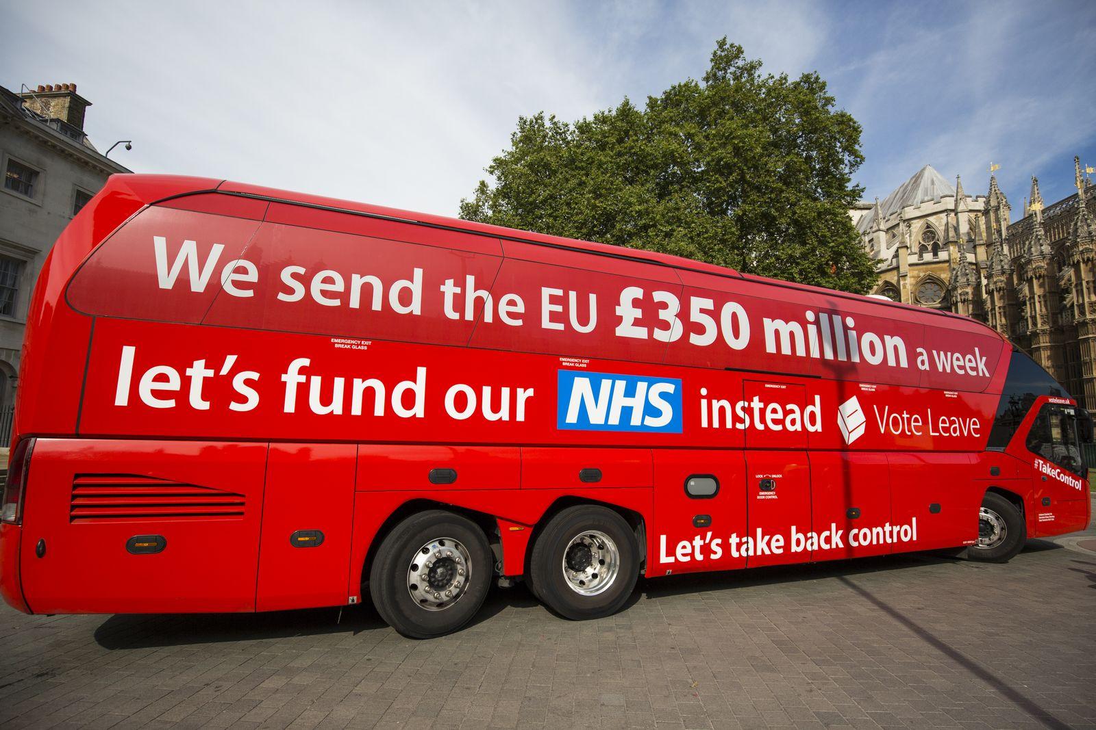 London / Brexit / Battlebus