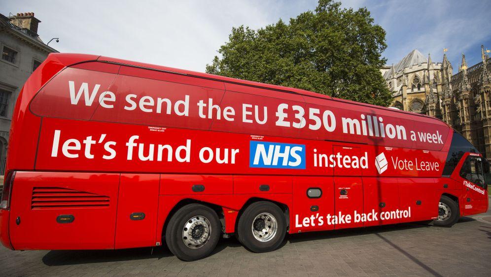 """Brexit-Bus: """"Zeit für die Wahrheit"""""""
