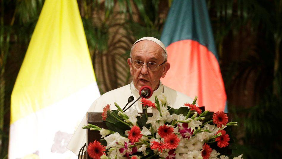 Papst Franziskus in Bangladesch