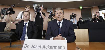 Ackermann vor dem Ausschuss: Kein Vertrauen mehr in HRE-Daten
