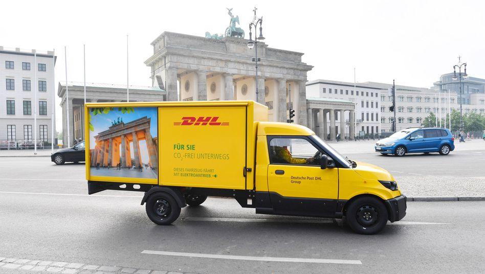 Ein StreetScooter in Berlin
