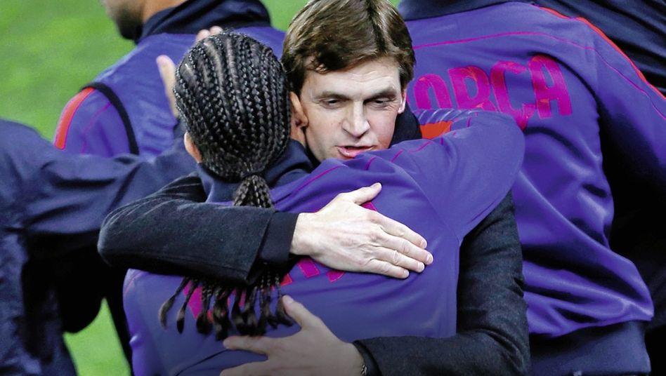 Barcelona-Trainer Vilanova, Spieler