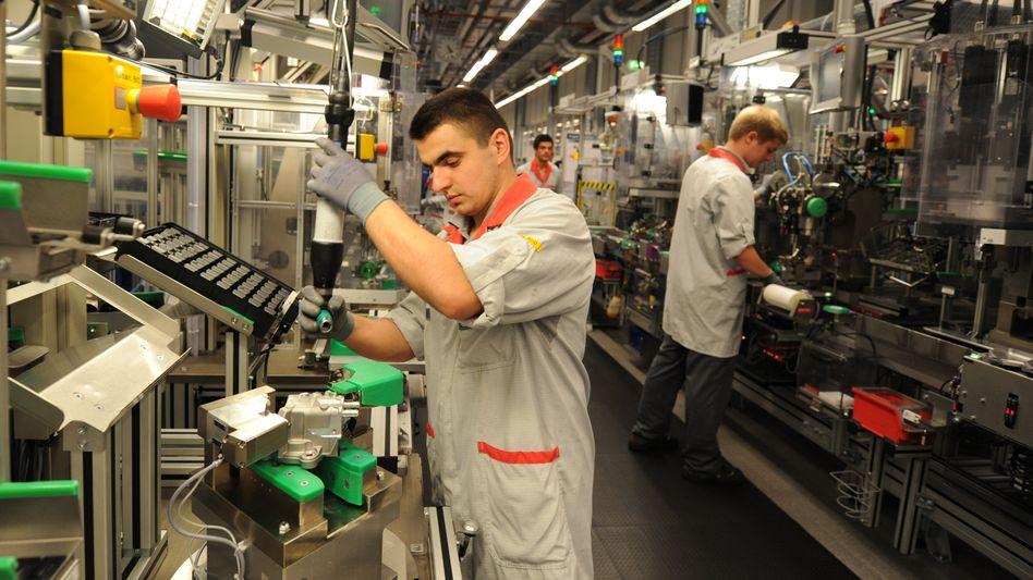Boschwerk in Stuttgart (Archiv): Die Wirtschaft braucht ausländische Fachkräfte