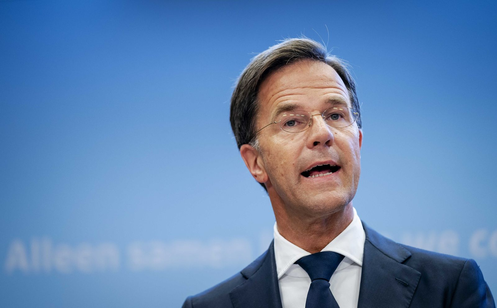 Rutte and De Jonge give press conference about coronavirus, The Hague, Netherlands - 18 Aug 2020