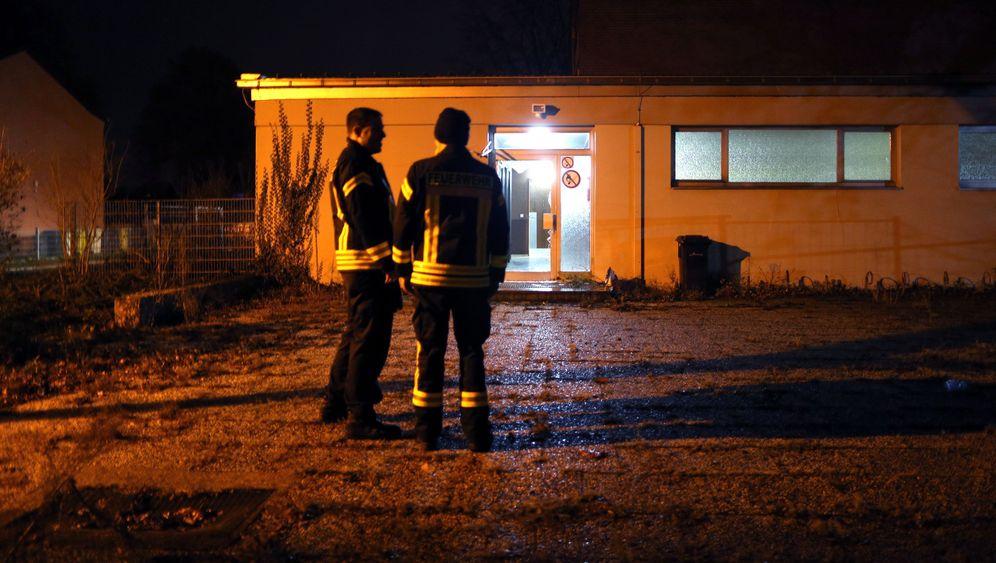 Flüchtlingsheim bei Aachen: Brand in Baesweiler