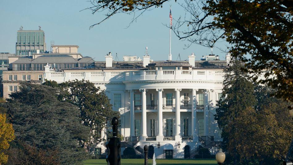 Das Weiße Haus in Washington, D.C.: Bis Joe Biden hier einzieht, dauert es noch