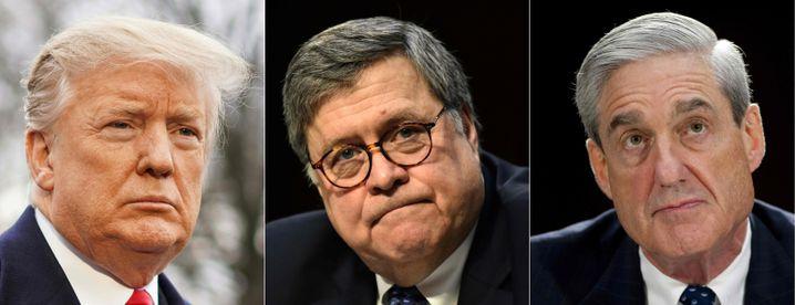 Donald Trump, William Barr, Robert Mueller