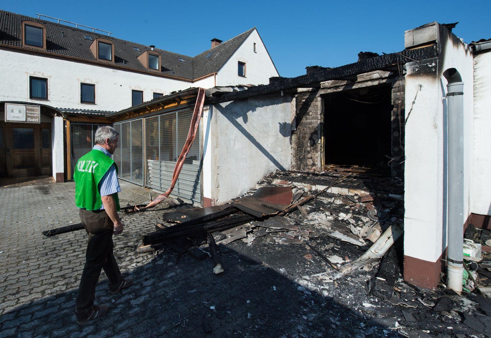 Reichertshofen/ Brandanschlag/ Asylbewerberunterkunft