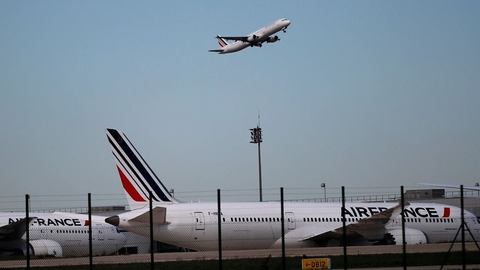 Flughafen Charles de Gaulle in Paris