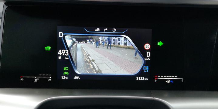 Digitale Rückspiegel im Hyundai Nexo