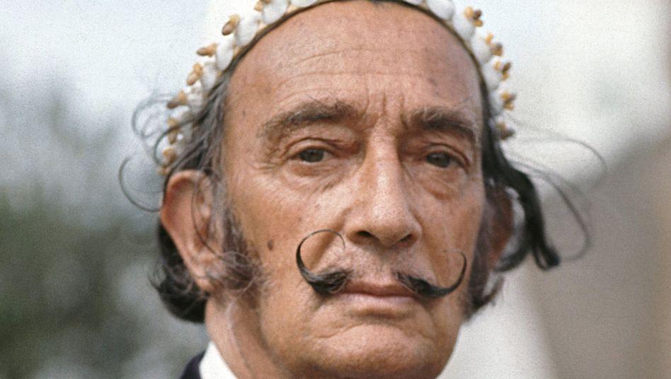 Der spanische Künstler Salvador Dalí: Bei weitem nicht sein teuerstes Werk