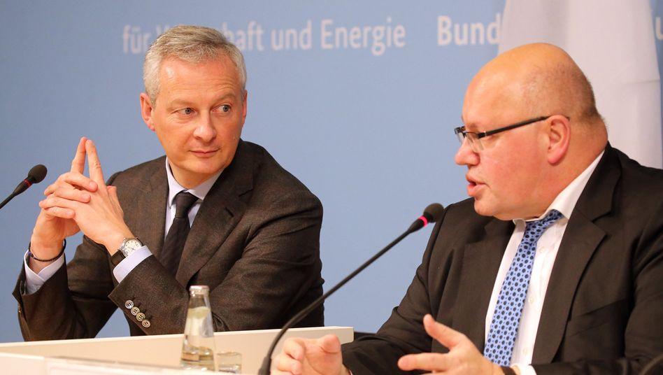 Bruno Le Maire und Peter Altmaier