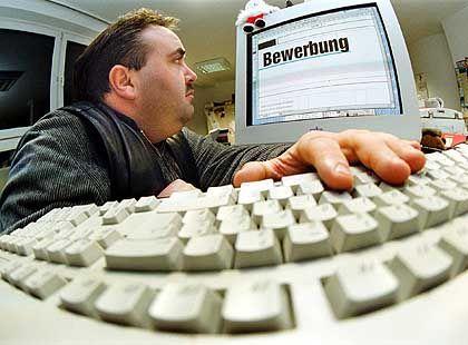 Bewerbung: Unternehmen setzen auf Online-Formulare