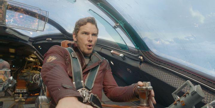 """Erlebte 2014 seinen Durchbruch: Chris Pratt in """"Guardians of the Galaxy"""""""