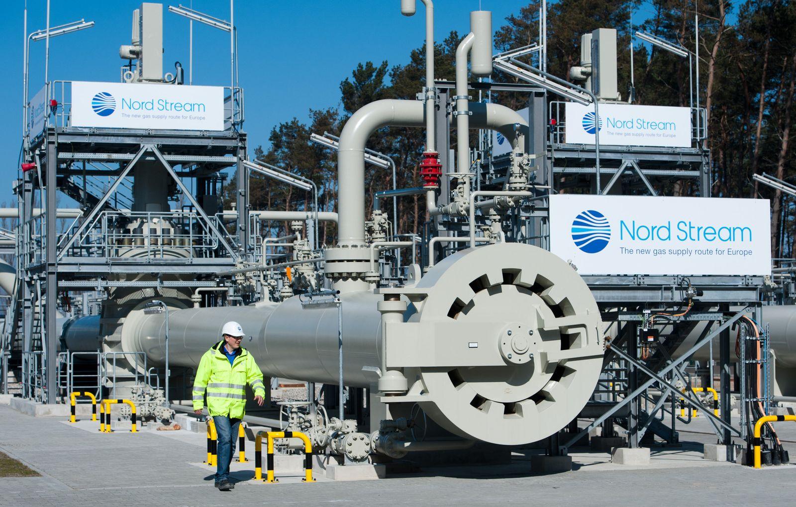 Nord Stream / Ostseepipeline / Erdgas