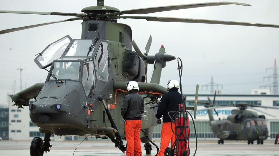 Flug beendet: Auch der Hubschrauberhersteller Eurocopter gehört zu EADS