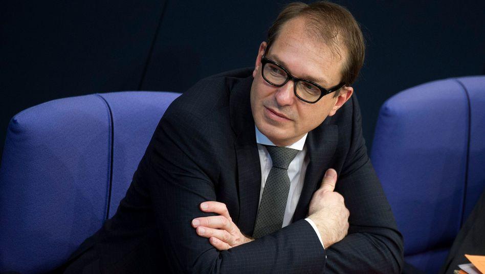 Bundesverkehrsminister Dobrindt: Konfrontation mit Brüssel