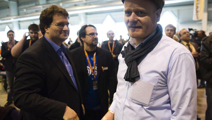 Bundesparteitag: Piraten wählen Bernd Schlömer zum neuen Vorsitzenden