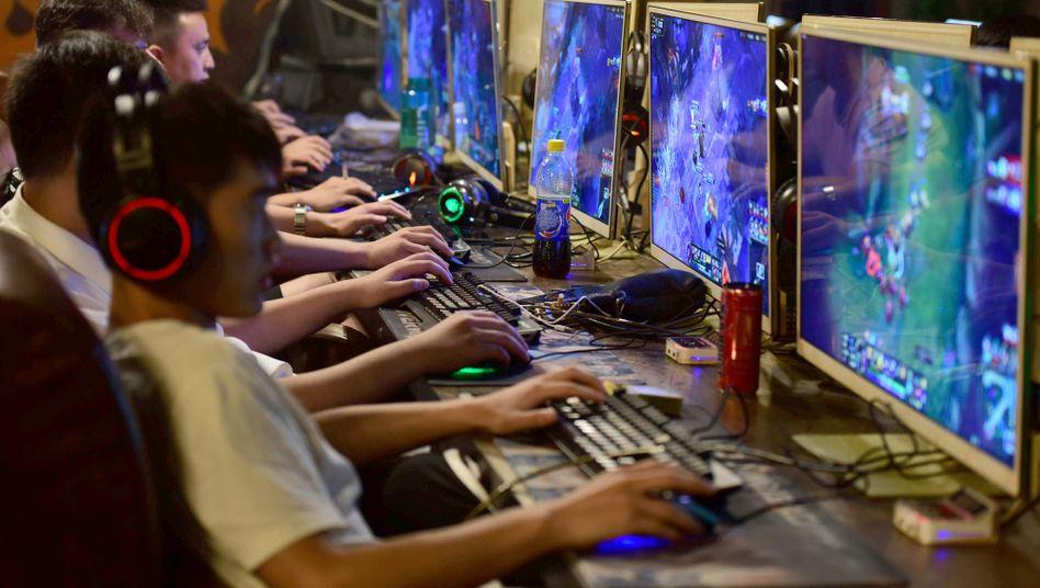 Internetcafé in Fuyang, China (Symbolbild)