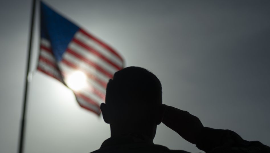 US-Soldat auf den kenianischen Flugplatz Manda Bay. (Archivbild)