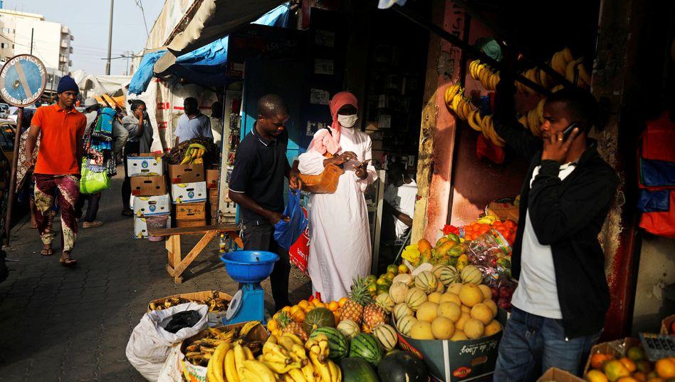 """Markt in Dakar, Senegal: """"Die Verwundbarsten auf diesem Planeten schützen"""""""