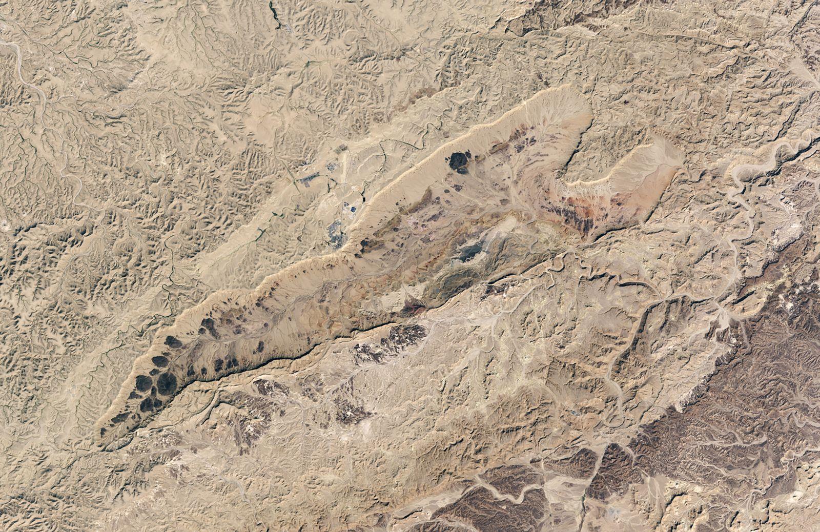 Ramon Crater in Israel?s Negev Desert