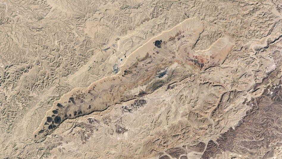 Der Ramon-Krater in der Negev-Wüste