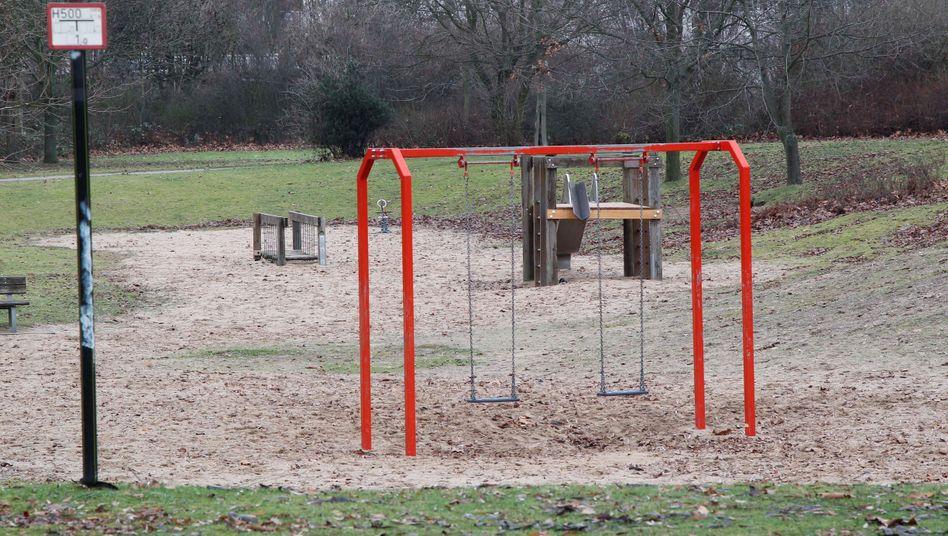 Der Olof-Palme-Park in Köln-Chorweiler: Hier wurde das Opfer laut Polizei zuletzt gesehen.