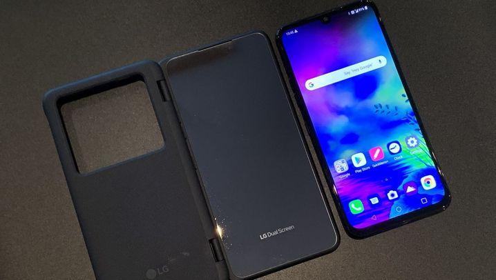 G8X: Das ist LGs Smartphone mit Doppelbildschirm
