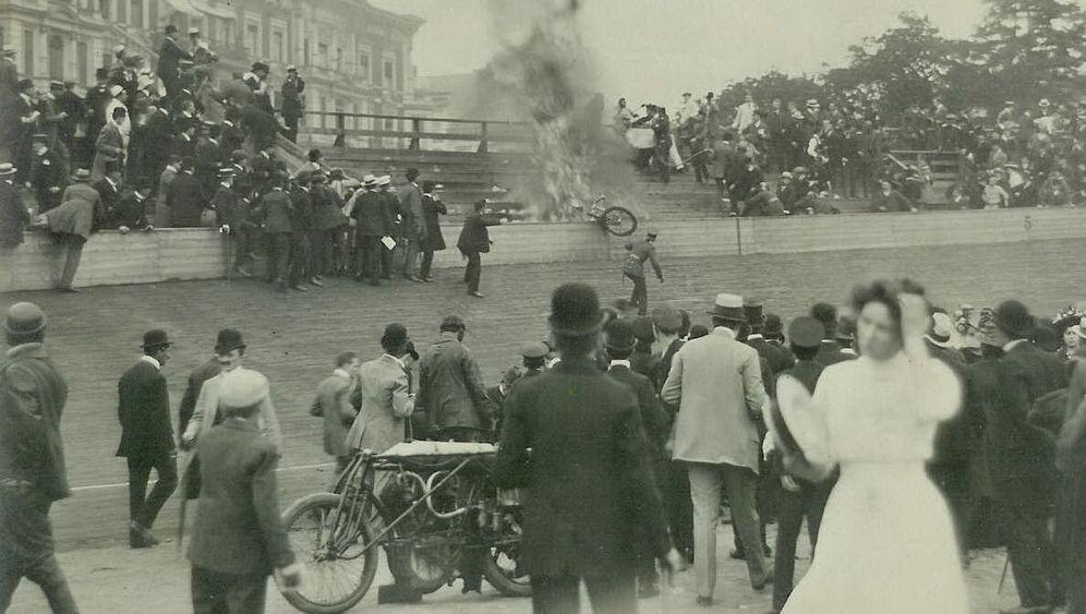 Bahnradrennen der Jahrhundertwende: Formel 1 auf Fahrradreifen
