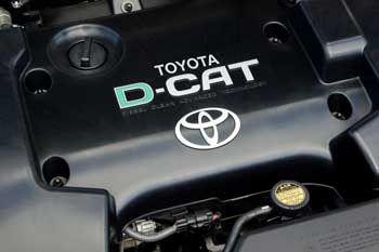 Elektronikzentrale registriert Sensor-Infos und koordiniert die Prozessabläufe: D-CAT-Motor
