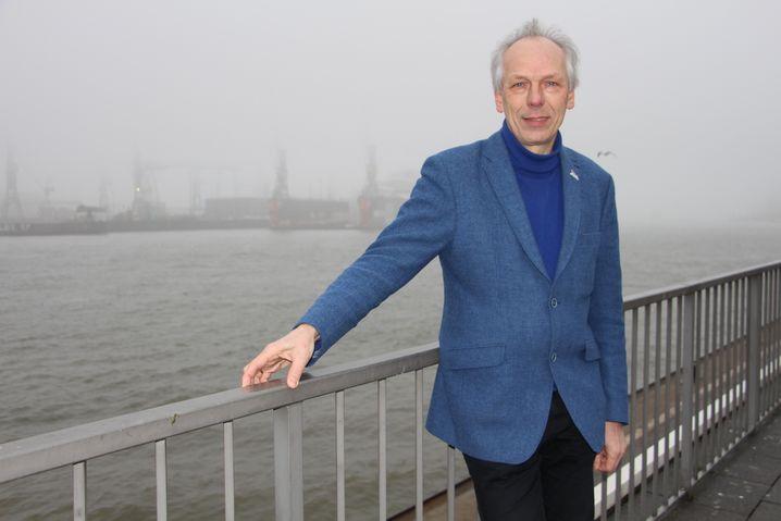 Alexander Porschke, 1. Vorsitzender des Nabu Hamburg und früherer Hamburger Umweltsenator (Bündnis 90 / Die Grünen)