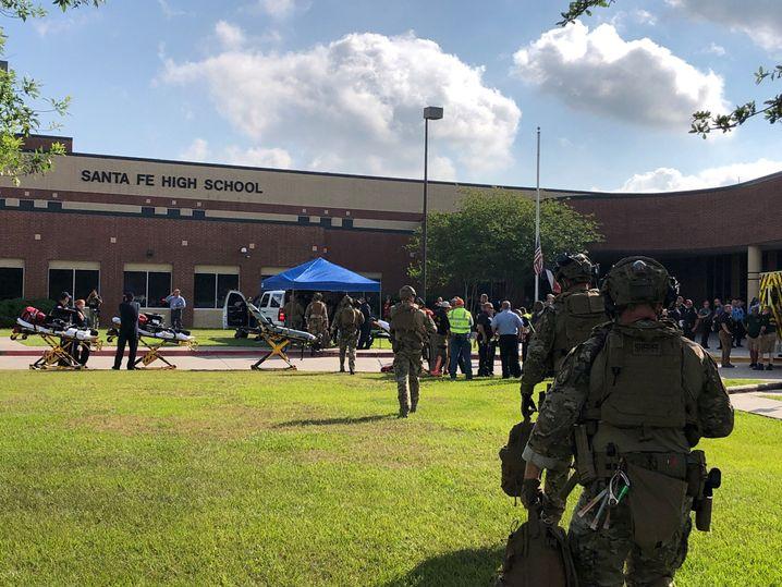 Spezialeinheiten an der Santa Fe High School