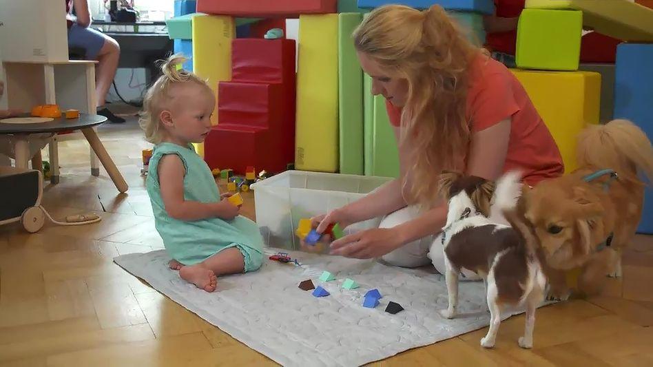 Szene aus »Train Your Baby Like a Dog«