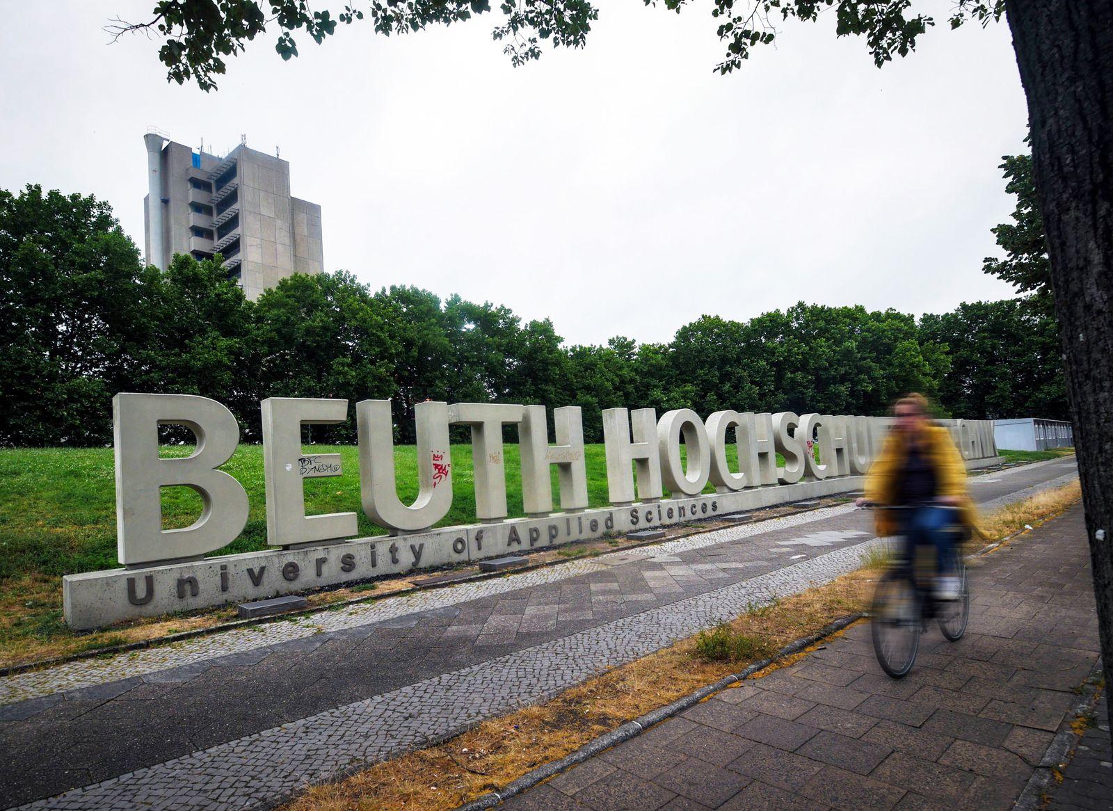 EINMALIGE VERWENDUNG Beuth Hochschule Berlin