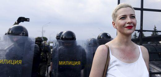 Belarus: Oppositionelle Marija Kolesnikowa über ihre Haft und Lukaschenkos Pseudo-Dialog