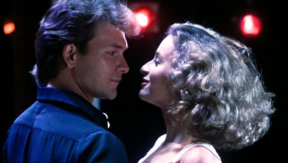 """Jennifer Grey und Patrick Swayze im Originalfilm """"Dirty Dancing"""" 1987"""