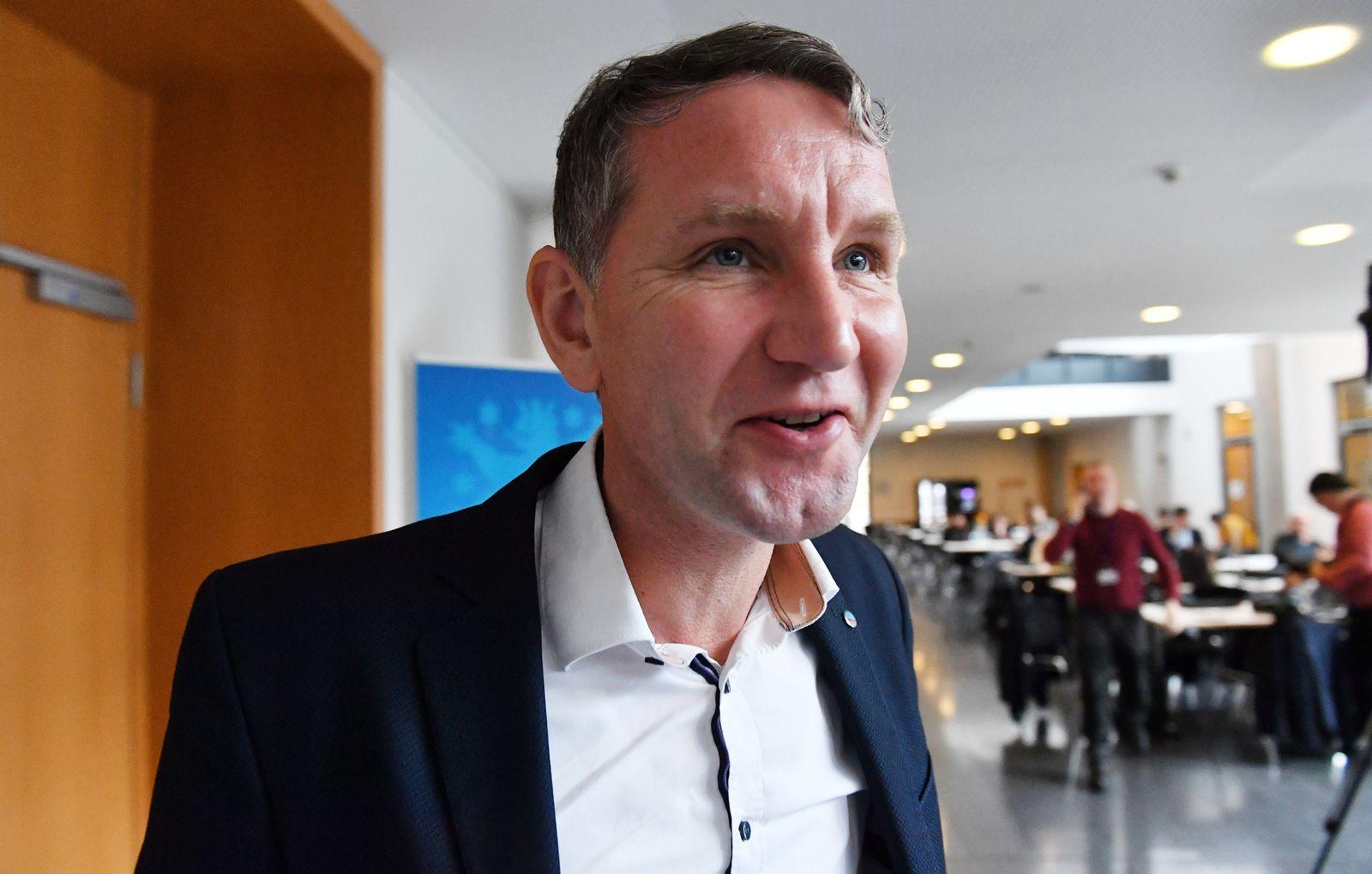 Fraktionssitzungen im Thüringer Landtag -AfD