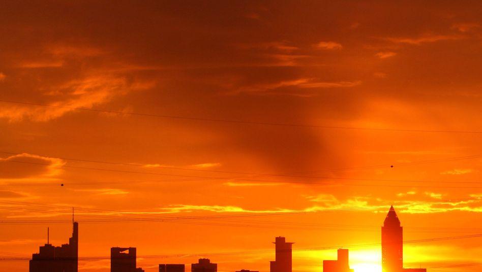 Skyline in Frankfurt: Der Staat muss die Banken zügeln