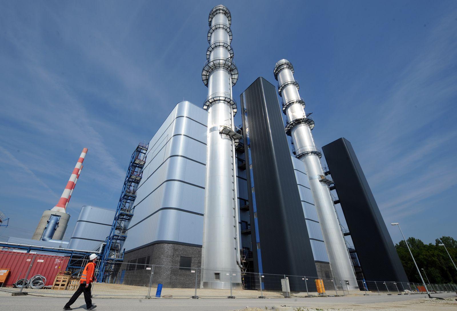 Inbetriebnahme des Gas- und Dampfkraftwerkes Irsching 5