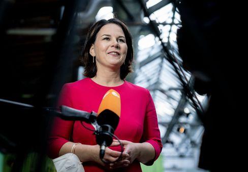 Annalena Baerbock kurz nach ihrer Kür zur ersten grünen Kanzlerkandidatin