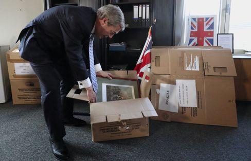 Brexit Party Chief Nigel Farage