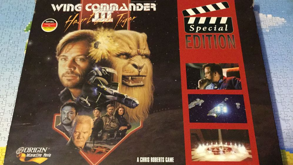 "Spieleklassiker: So sah ""Wing Commander III"": Heart of the Tiger"" aus"